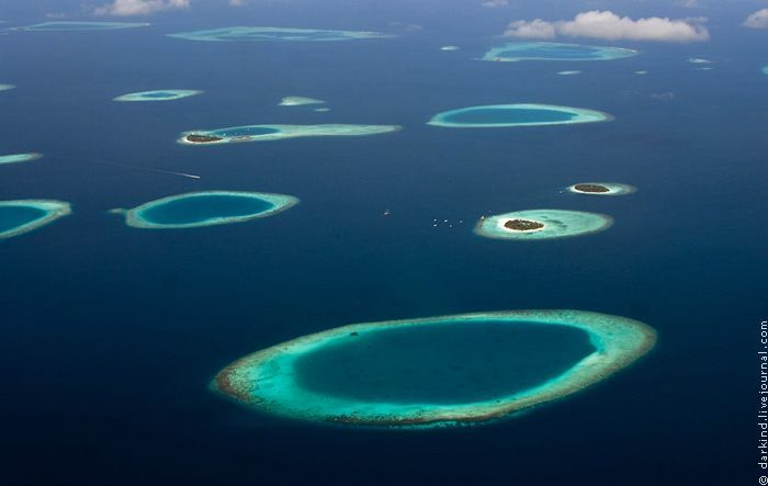 Flight between North Male Atoll and Baa - Maldives - Travel ...