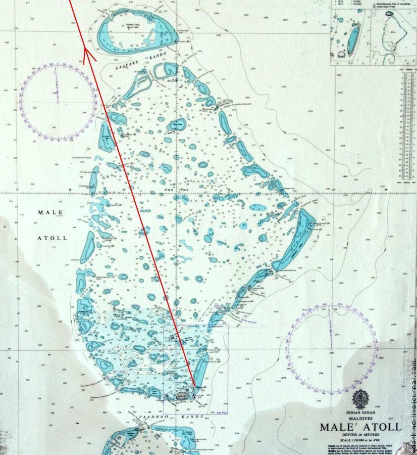 Flight Between North Male Atoll And Baa Maldives Travel - male map