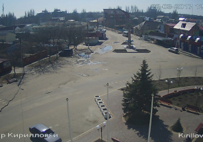 Web camera Ukraine, Zaporozhye region, Kirillovka, Center