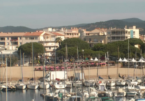Web camera France, Sainte-Maxime, Saint-Tropez
