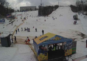 Web camera Ukraine, Kiev region, Kiev, Ski resort Protasov Yar