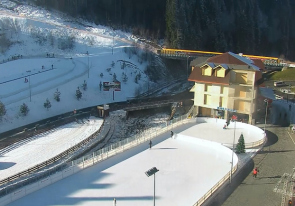 Web camera Ukraine, Ivano-Frankivsk region, Polyanitsa, Ski resort Bukovel