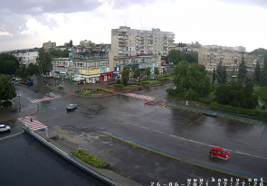 Web camera Ukraine, Cherkassy, Kaniv, Square