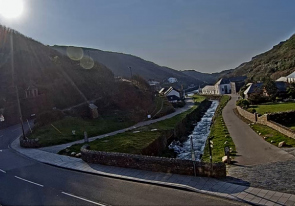 Web camera United Kingdom, Cornwall, Boscastle, Bay