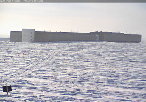 Web camera Antarctica, Ross Island, Amundsen-Scott, Research Station