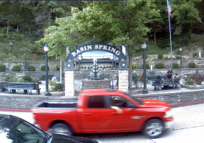 Web camera United States of America, Arkansas, Eureka Springs, Street