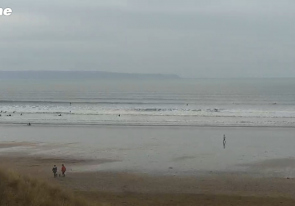 Web camera United Kingdom, Saunton, Beach