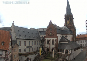 Web camera Germany, Aschaffenburg, Church