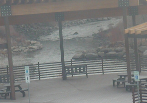 Web camera United States of America, Colorado, Pagosa Springs, River