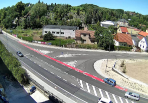 Web camera Czech, Eastern Bohemia, Nachod, Traffic camera