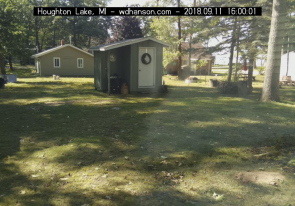 Web camera United States of America, Michigan, Houghton Lake, Street