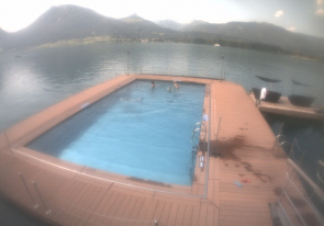 Web camera Austria, Wolfgangsee, Lake