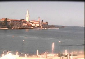 Web camera Croatia, Porec, Harbor