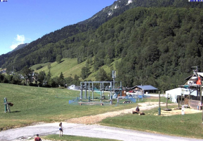 Web camera France, Alps, Les Aiglons, Panorama