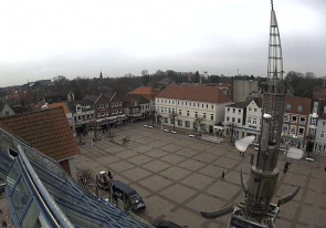 Web camera Germany, Aurich, Marketplace