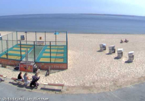 Web camera Germany, Hornum, Beach