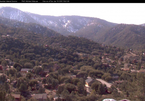 Web camera United States of America, California, Mount Pinos, Panorama