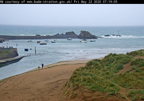 Web camera United Kingdom, Bude, Beach