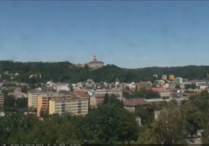 Web camera Czech, Eastern Bohemia, Nachod, Castle