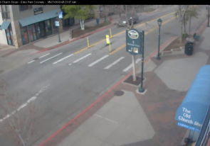 Web camera United States of America, Colorado, Estes Park, Street