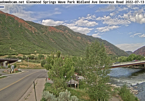 Web camera United States of America, Colorado, Glenwood Springs, Panorama