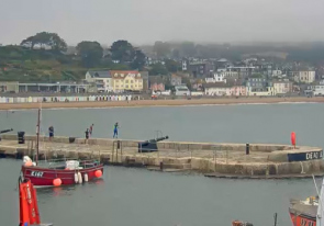 Web camera United Kingdom, Lyme Regis, Panorama