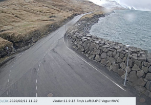 Web camera Faroe Islands, Panorama