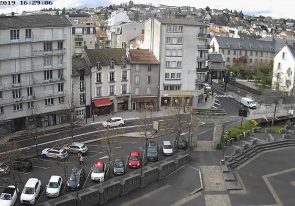Web cameras France, Aurillac, Square
