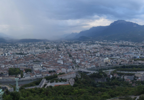 Web camera France, Grenoble, Panorama