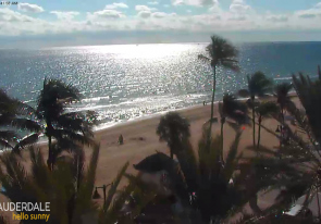 Web camera United States of America, Florida, Fort Lauderdale, Panorama