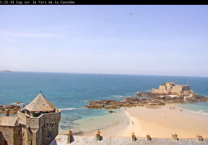 Web camera France, Saint Malo, Castle