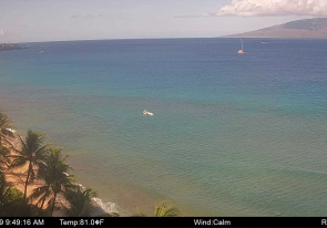 Web camera Hawaii, Maui, Panorama