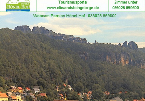 Web camera Germany, Bad Schandau, Panorama