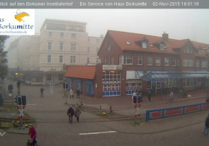 Web camera Germany, Borkum, Railway station