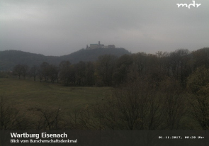 Web camera Germany, Eisenach, Castle Wartburg