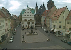 Web camera Germany, Lutherstadt Eisleben, Square