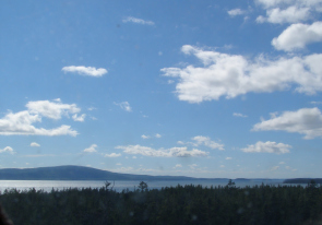 Web camera United States of America, Maine, Acadia National Park, Panorama