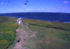 Web camera United States of America, Maine, Wood Island, Panorama
