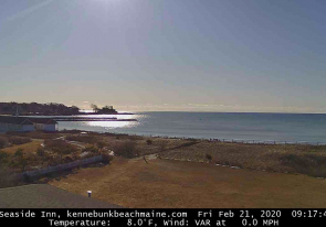 Web camera United States of America, Maine, Kennebunk, Beach