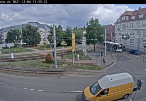 Web camera Germany, Nordhausen, Street