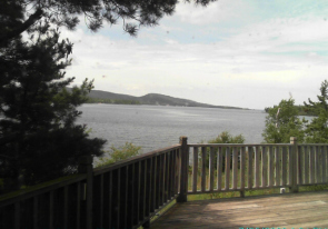 Web camera United States of America, Michigan, Copper Harbor, Bay