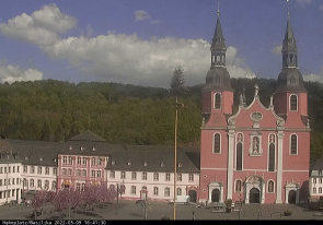 Web camera Germany, Prum, Cathedral
