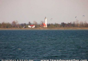 Web camera United States of America, Michigan, Tawas Bay, Panorama