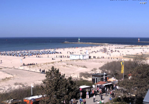 Web camera Germany, Rostock, Beach