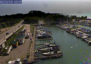 Web camera Canada, Ontario, Kincardine, Parking boats