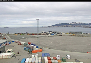 Web camera Norway, Alesund, Port