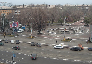 Web camera Ukraine, Zaporizhzhya, Zaporizhzhya, Mayakovsky Square / Fountain of Life