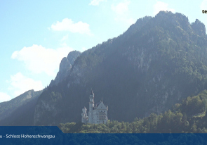 Web camera Germany, Bavaria, Schwangau, Neuschwanstein Castle