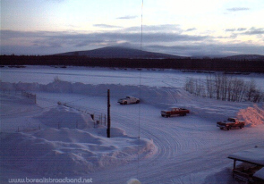 Web camera United States of America, Alaska, McGrath, Parking