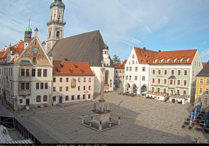 Web camera Germany, Freising, Square